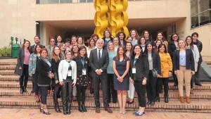 Alcalde Enrique Peñalosa en el evento de X Comité Sectorial de Igualdad de la Unión de Ciudades Capitales Iberoamericanas