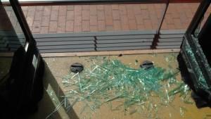 Vandalismo en buses de TransMilenio. Foto: Prensa TransMilenio