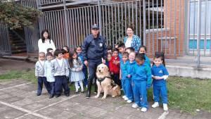 Vigilancia en colegios oficiales de Bogotá  - Foto: Secretaría de Educación