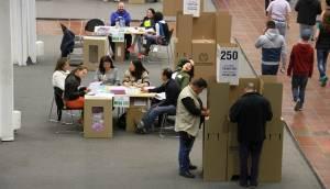 Votación Consulta Anticorrupcción - FOTO: Consejería de Comunicaciones