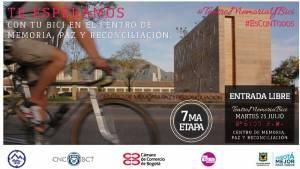 Este martes 24 de julio, acompáñanos a la séptima Vuelta a la memoria.