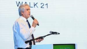Conferencia inaugural de Walk21  - Foto: Comunicaciones Alcaldía Bogotá / Diego Bauman