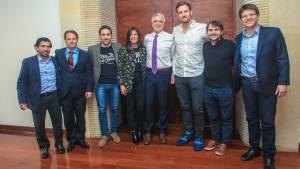 Alcalde Peñalosa reunido con empresaios de WeWork