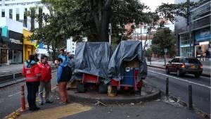 Así se recuperó el espacio público en la Zona Rosa. Foto: Dadep.