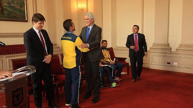 Reconocimiento deportistas olímpicos - Foto: Prensa Alcaldía Mayor / Diego Bauman