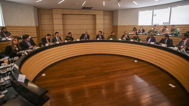 Consejo de Seguridad - Foto: Prensa Alcaldía Mayor