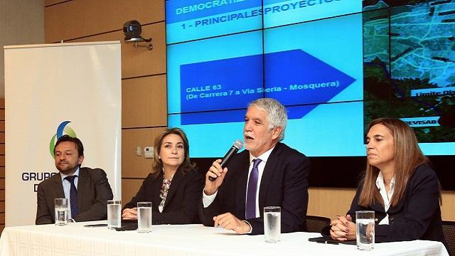 Anuncios Empresa de Energía de Bogotá - Foto: Prensa Alcaldía Mayor / Diego Bauman