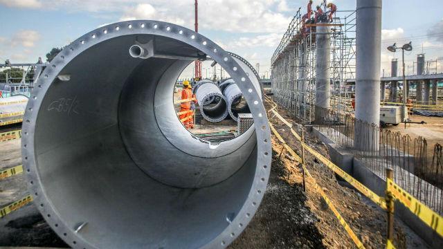 Avanza construcción de TransMiCable - Foto: Alcaldía Mayor de Bogotá
