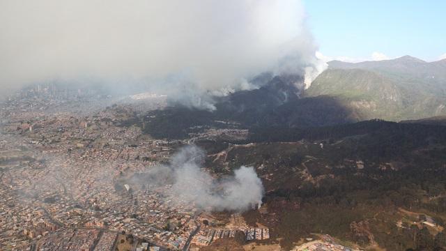 Cerros orientales de Bogotá - Foto: Comunicaciones Alcaldía Bogotá / Camilo Monsalve