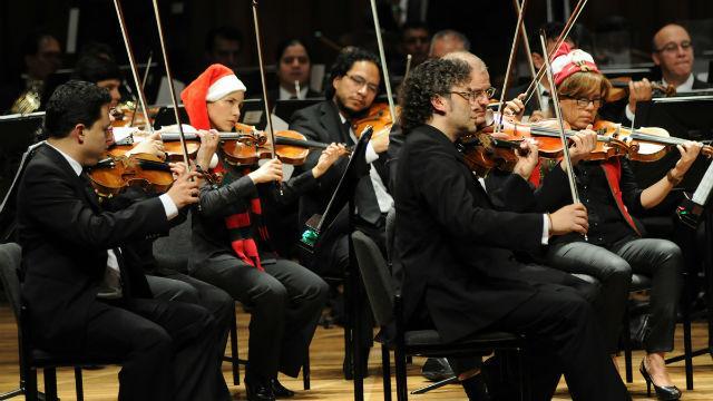Concierto Orquesta Filarmónica - Foto: agenciadenoticias.unal.edu.co