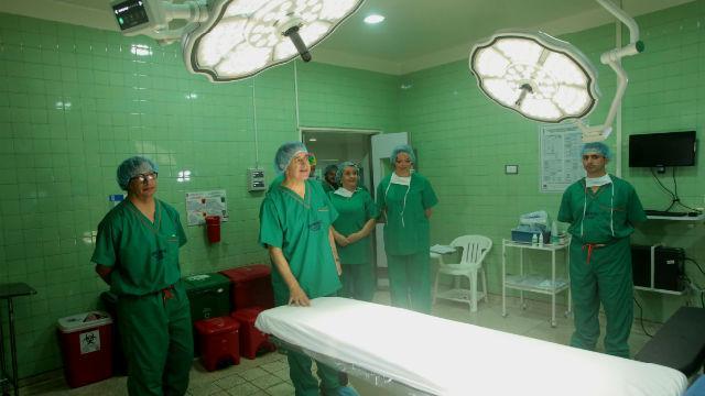 Equipamiento hospital Simón Bolívar - Foto: Alcaldía Mayor - Diego Bautista