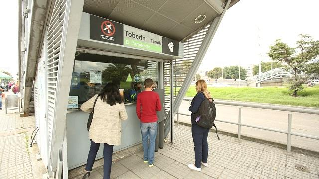Estación de TransMilenio - Foto: Comunicaciones Alcaldía Mayor