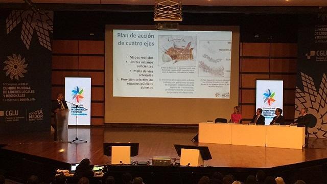 Jaime Vásconez, consultor de la Universidad de Nueva York - Foto: Prensa Secretaría de Planeación