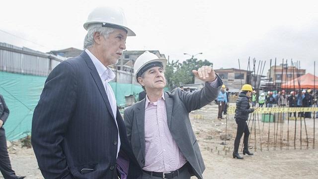 Obras hospital de Kennedy - Foto: Comunicaciones Alcaldía Mayor / Camilo Monsalve