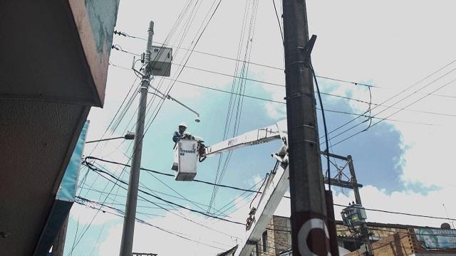 Instalación cámaras de seguridad en Ciudad Bolívar - Foto: Comunicaciones Alcaldía Mayor/ Camilo Monsalve