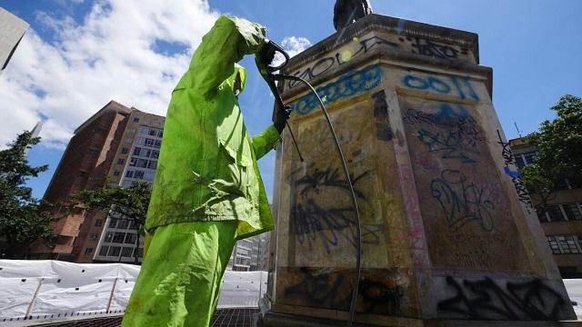 Intervención Plazoleta del Rosario - Foto: Alcaldía Mayor de Bogotá