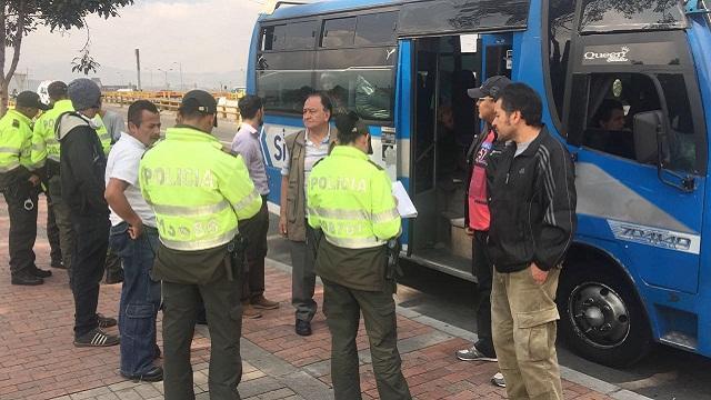 Mil hombres de la Policía custodian el sistema - Foto: Alcaldía de Bogotá