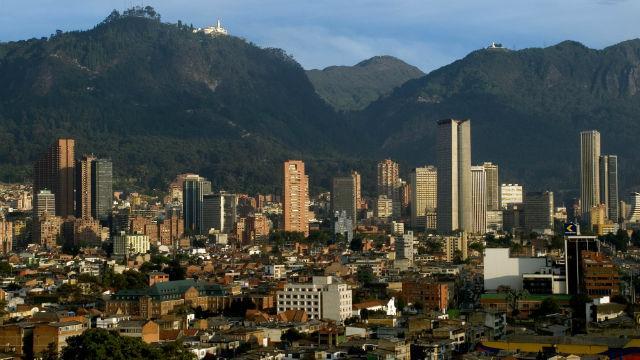 Panorámica de Bogotá - Foto: bogotabureau.com