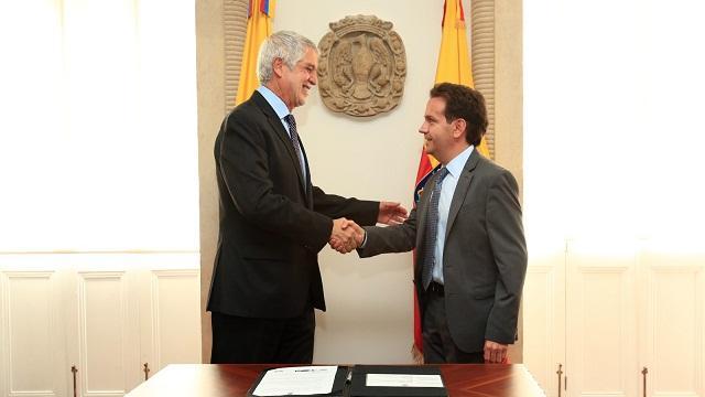 Posesión Secretario de Seguridad - Foto: Prensa Alcaldía Mayor / Diego Bauman