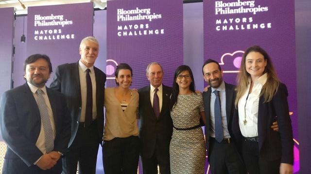 Premio Bloomberg Philanthropies - Foto: Alcaldía Mayor de Bogotá