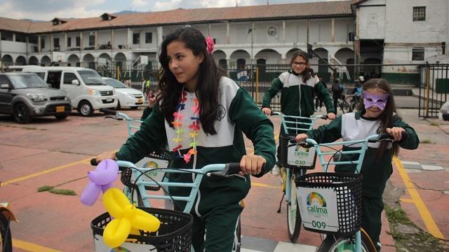 Retorno escolar seguro - Foto: Alcaldía Local Los Mártires