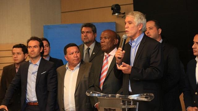Declaraciones sobre decreto de Ministerio de Minas - Foto: Comunicaciones Alcaldía Mayor / Diego Bauman