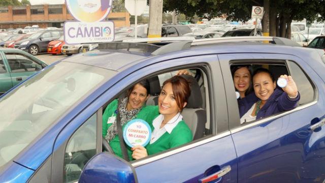 Semana del carro compartido - Foto: pems.com.co