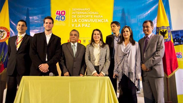 IDRD firmó convenio de deporte para la paz