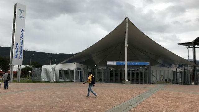 Terminal Satélite del Norte - Foto: bogota.gov.co