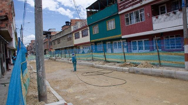 Acueducto y alcantarillado en Bosa - FOTO: Prensa Acueducto
