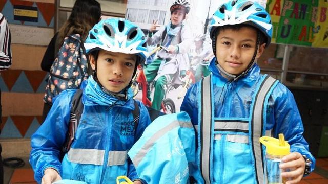 Monserrate, el nuevo ciclo paseo para los estudiantes de 'Al Colegio en Bici'