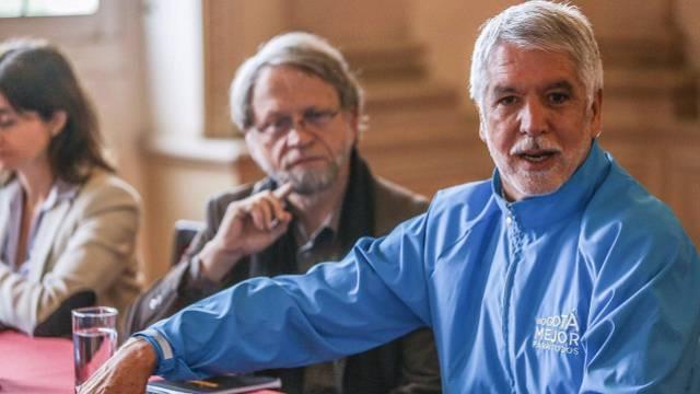 Alcalde Peñalosa en reunión con el exalcalde Antanas Mockus