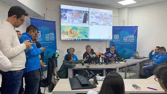 Alerta ambiental - FOTO: Prensa Secretaría de Ambiente