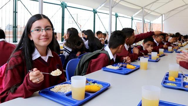 Bogotá líder de alimentación escolar en el país - Foto: Comunicaciones Secretaría de Educación