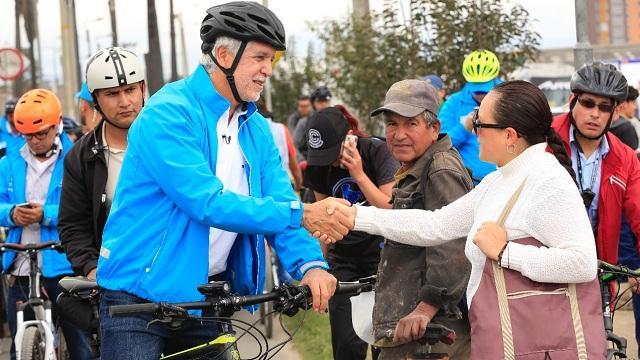 Encuentro del Alcalde Peñalosa con los bogotanos
