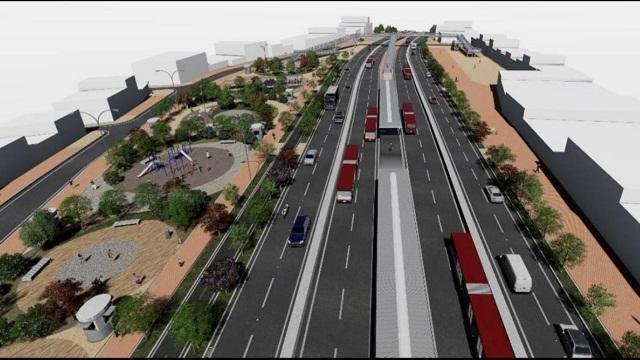 Así será la ampliación de la troncal Caracas en el sur de la ciudad - Foto: Prensa IDU
