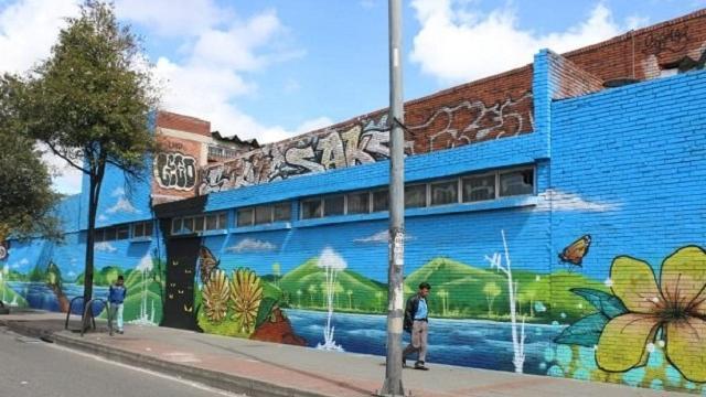 Mural localidad Antonio Nariño - FOTo: Prensa Sec. Gobierno