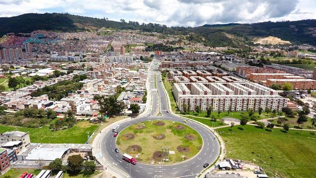 Lista la Avenida San Antonio en Bogotá - Foto: Alcaldía de Bogotá