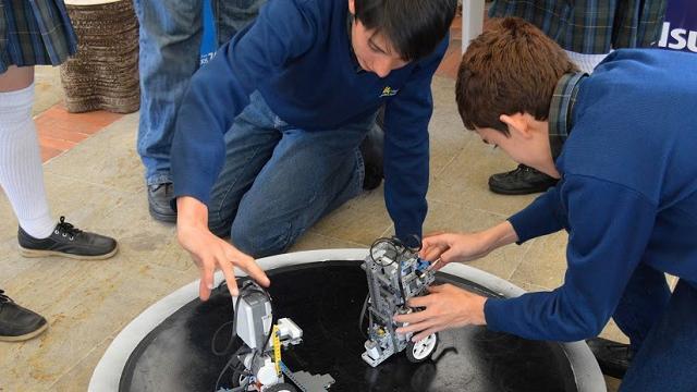 Bogotá robótica - FOTO: Alta Consejería de Comunicaciones