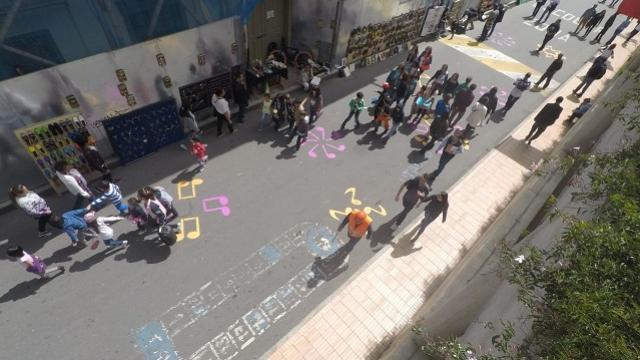 Así se ve la calle 11 peatonalizada. Foto: Gerencia Centro.