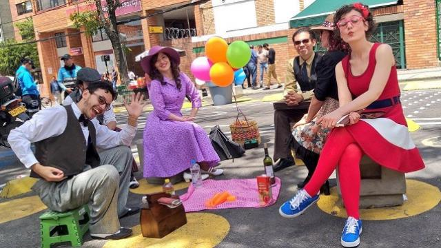 Recuperación Calle 71 - FOTO: Prensa IDPAC