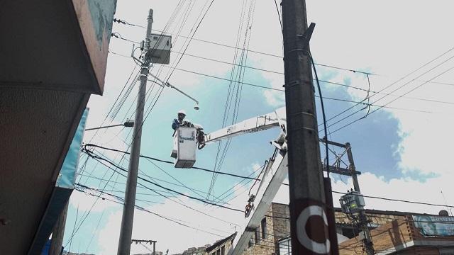 Cámaras de seguridad en Bogotá - Foto: Comunicacicaciones Alcaldía / Diego Bauman