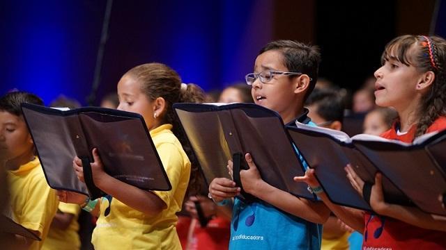 Concierto anual 'Canta Bogotá Canta'  - Foto: Comunicaciones Secretaría de Educación