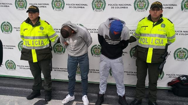 Captura ladrones casino - FOTO: Prensa Mebog