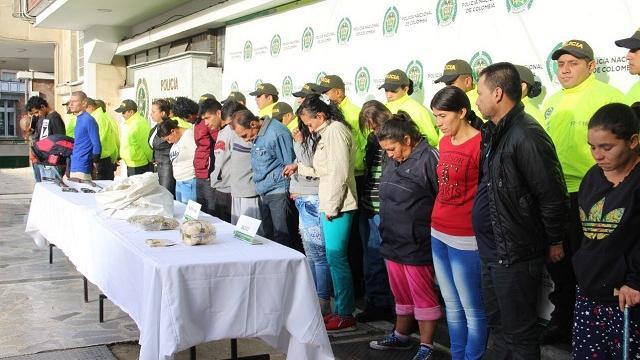 Capturas La Favorita - FOTO: Prensa MEBOG