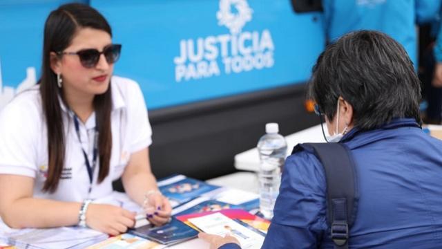 Jornada de acceso a la Justicia - FOTO: Prensa Secretaría de Seguridad