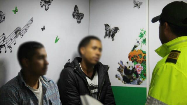 Policía rescató menores abandonados - FOTO: Prensa MEBOG