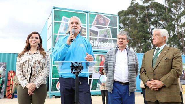 Presentación Centro Temporal de Fauna Silvestre - Foto: Comunicaciones Alcaldía / Diego Bauman