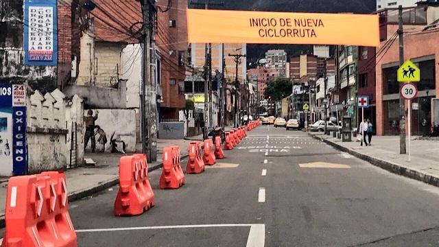 Nuevas CicloRutas en Bogotá - Foto: Prensa Secretaría de Movilidad