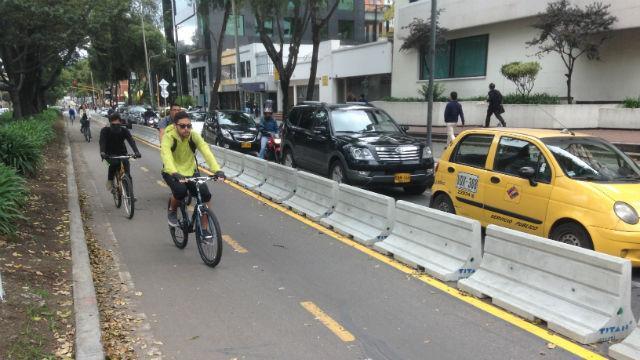 Ciclorruta Carrera 11 - Foto: IDU